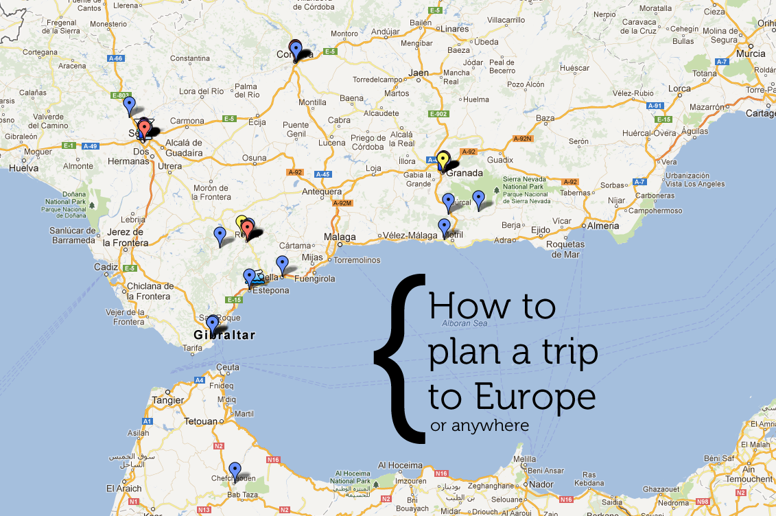 How To Plan A Trip To Europe Or Anywhere Whitney - Europe trip